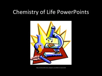 Biochemistry PowerPoint Lectures / Presentations (5 Sets)