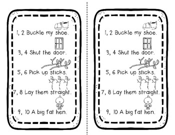 FIVE Emergent Readers - Nursery Rhymes Retold With Dolch Pre-Primer Words-SET 2