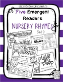 FIVE Emergent Readers - Nursery Rhymes Retold With Dolch Words-SET 3