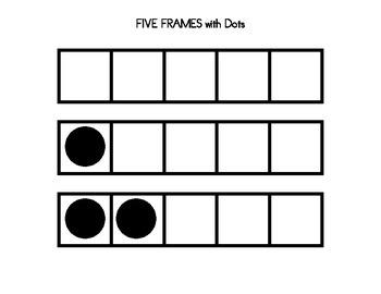 FIVE FRAMES GAMES for Pre-K! (10 games)
