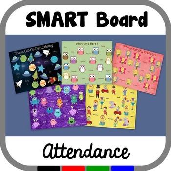 SMART Board Attendance Bundle