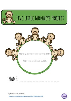 FIVE LITTLE MONKEYS COMPLETE LESSON PLAN