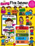 Five Senses Clip Art & Printables
