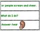 FIVE SENSES POCKET CHART