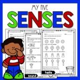 FIVE SENSES ACTIVITIES | FIVE SENSES WORKSHEETS