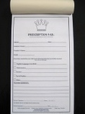 FIVE STAR PARENT Prescription Pad for Teachers