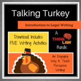 FIVE Thanksgiving Persuasive Writing Lessons Using REAL-LI