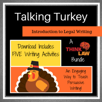 FIVE Thanksgiving Persuasive Writing Lessons Using REAL-LIFE Court Cases!