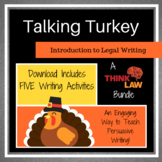 FIVE Thanksgiving Persuasive Writing Lessons Using REAL-LI