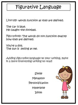 Figurative Language: Reference Packet
