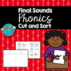 Final Sounds Cut and Sort Booklet