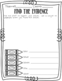 FInd the Evidence Template