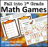 Fall Math Games for First Grade
