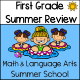 First Grade Summer Review: Math and Language Arts Summer School
