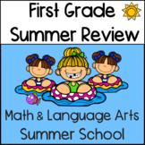 First Grade Summer Review: Math and Language Arts Summer School