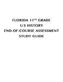 FL 11th Grade U.S. History EOC Study Guide