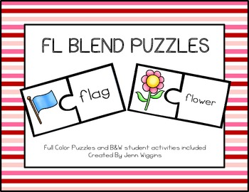 FL Blend Puzzles ~ 18 Puzzles Plus Follow Up Activities
