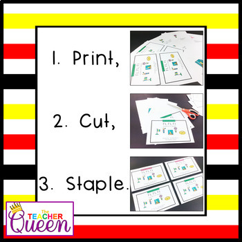 FL- Blend Readers Levels A and C (Printable and Projectable Books)