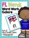FL Blends Word Work Galore-Differentiated and Aligned Activities and Instruction
