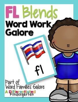 FL Blends Word Work Galore-Differentiated and Aligned Acti