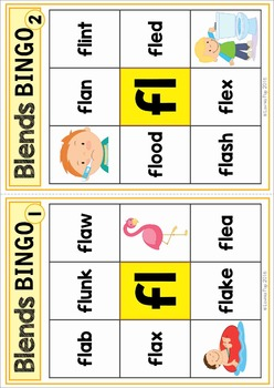 Blends Worksheets and Activities - FL
