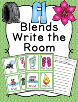 FL Blends Write the Room Activity
