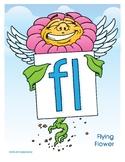 FL (Flying Flower) Blend Buddy Poster
