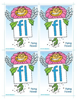 FL (Flying Flower) Blend Buddy Card