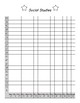 FL Studies Weekly 3rd Grade Data Notebook (2 Pages)