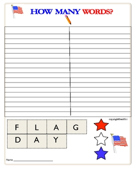 image about Flag Day Printable Activities called FLAG Working day worksheets and things to do