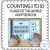 FLAGS OF THE WORLD COUNTING ADAPTED BOOK