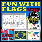 FLAGS OF THE WORLD Book and Activity BUNDLE