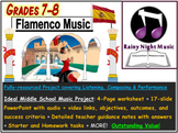 LATIN FLAMENCO MUSIC Project
