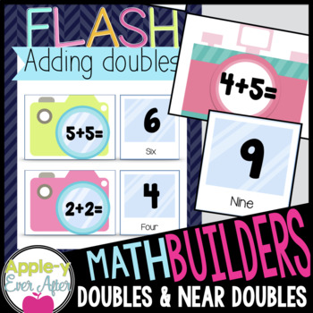 MATH BUILDERS - FLASH - Addition Math Games for Doubles and Near Doubles
