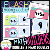 MATH BUILDERS - FLASH - Addition Math Games for Doubles an