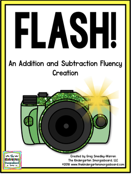 FLASH!  An Addition And Subtraction Fluency Creation!