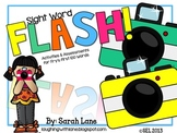 FLASH! An EDITABLE Sight Word Unit