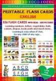 FLASH CARDS ENGLISH