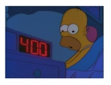 FLASH CARDS: HOMER'S DAILY ROUTINE