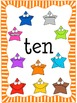 FLASH CARDS - Numbers - Silly Stars 1-10