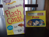 FLASH CARDS-PICTURE WORDS & THEME MATES   (set of 2)