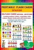 FLASH CARDS SPANISH VOCABULARY