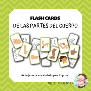 [FLASH CARDS] Parts of the body