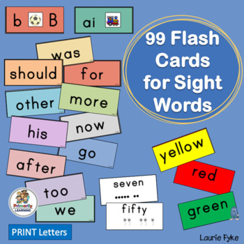 90 Sight Word Flash Cards complement programs like Jolly Phonics!