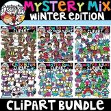 Mystery Mix Winter Clipart Bundle {Winter Clipart}