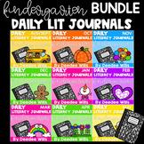 Literacy Journal Prompts for Kindergarten | BUNDLE