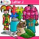 A - Z Alphabet Clip Art Bundle | Teach Phonics, Recognition, and Identification