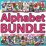 A - Z Alphabet Clip Art Bundle: Phonics Graphics {Glitter Meets Glue}