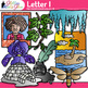 A - Z Alphabet Clip Art Bundle {Teach Phonics, Recognition