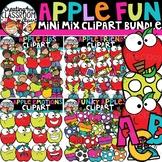 FLASH DEAL!! Apple Mini Mix Clipart Bundle {Apple Clipart}